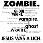 Jesus war kein Zombie