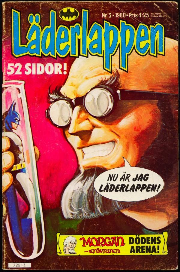 Batman auf schwedisch: Läderlappen