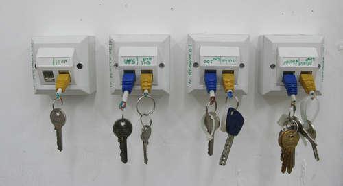 RJ45 Schlüsselbrett