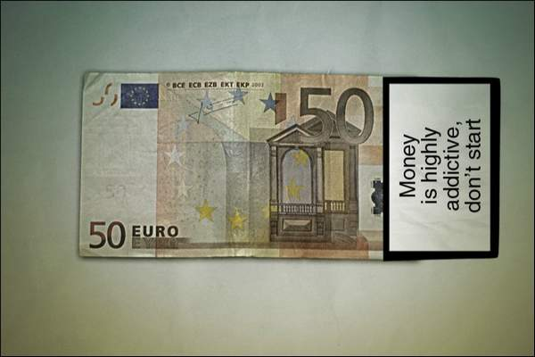 Warning: Money by Riccardo Pittaluga