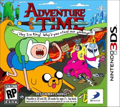Vorabcover für Adventure Time?