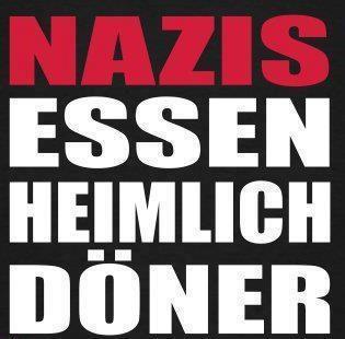 Nazis essen heimlich Döner