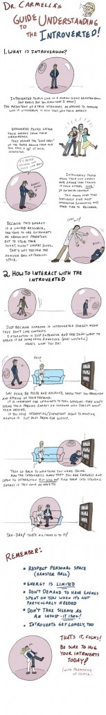 Dr Carmella's Guide To Understanding The Introverted