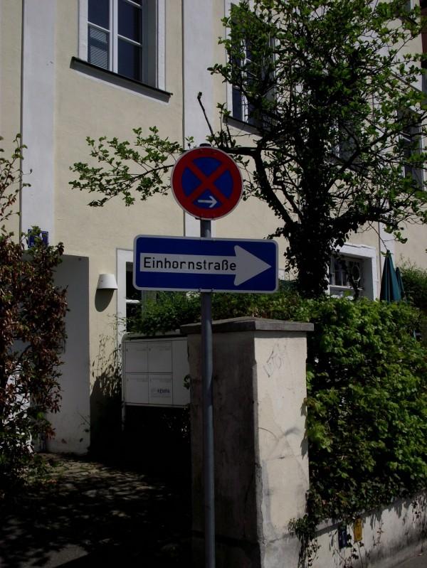Einhornstraße