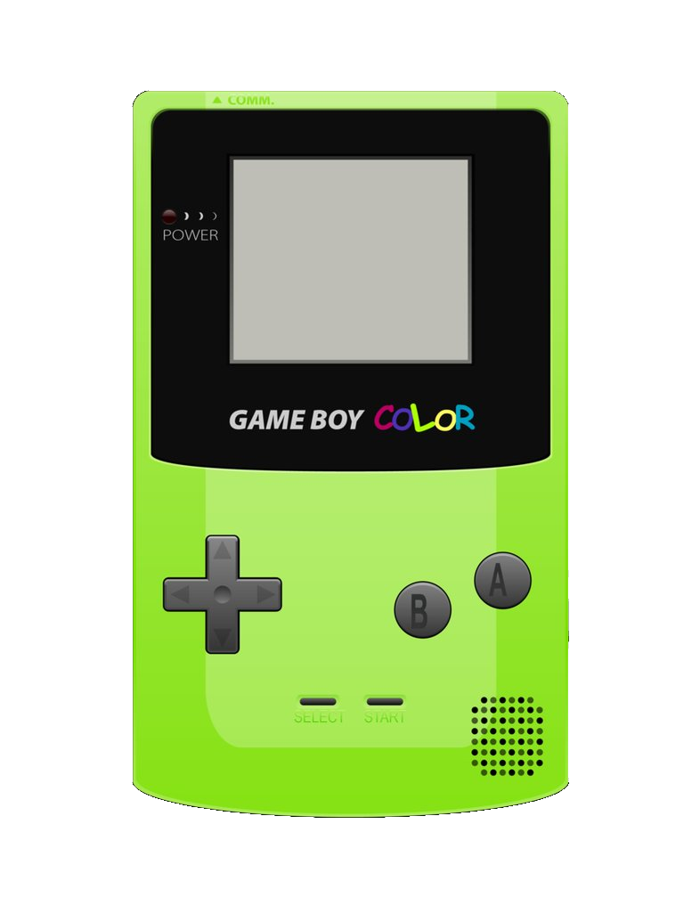 Gameboy Colouring Pages