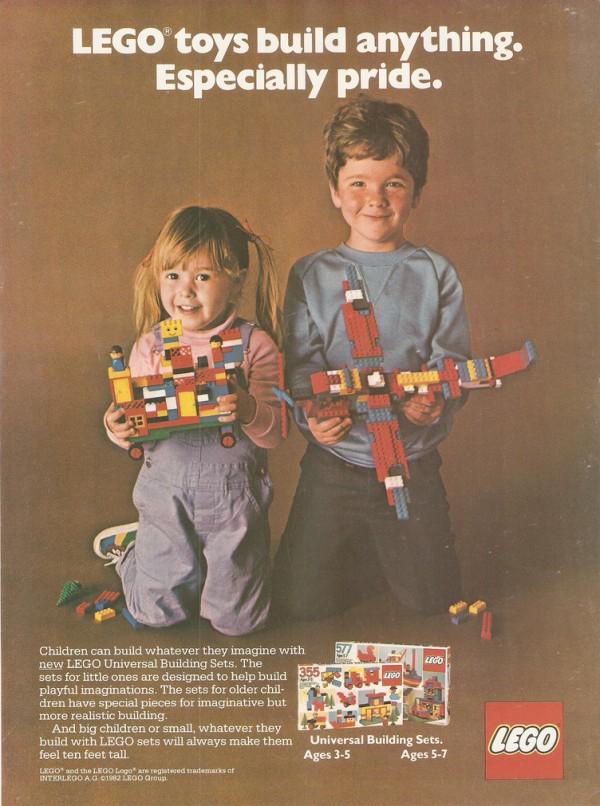 Lego Werbung aus den 80ern