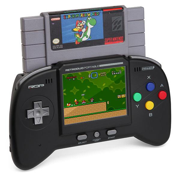 Retro Duo Portable für NES und SNES Spiele