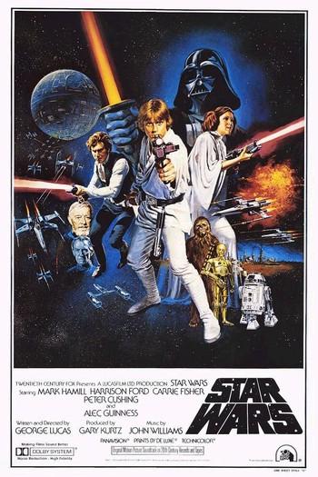Star Wars Poster zum ersten Film