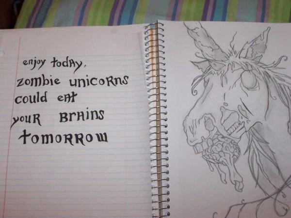 Zombie Unicorns