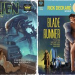 Alien & Blade Runner Pulp Covers
