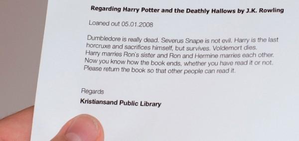 Bücher zurückholen, auf die fiese Art