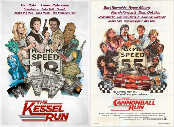 Kessel Run vs Cannonball Run