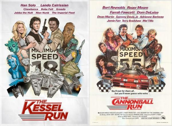 Kessel Run vs Cannonball Run