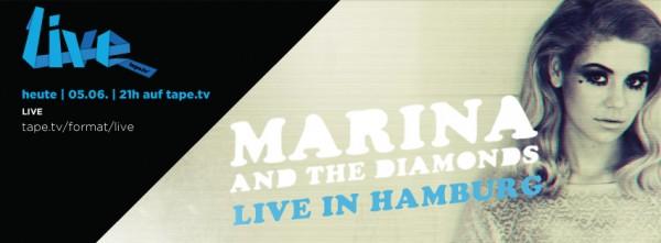 Marina And The Diamonds live on tape.tv