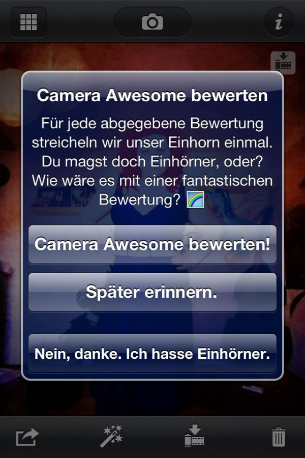 Camera Awsome bewerten