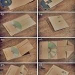CD-Cover falten