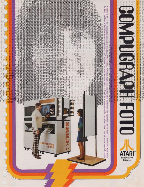 Compugraph Foto von Atari
