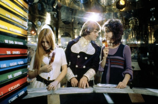 Heaven 17 in Clockwork Orange (1971) im letzten gelben Feld zu entdecken