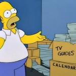Homer Simpson - Kalender
