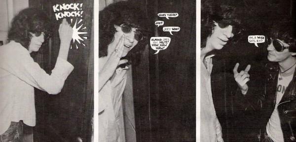 Joey Ramone im Comic aus dem Punk Magazine