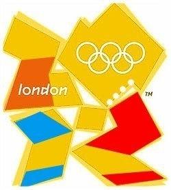 Logo der olympischen Spiele 2012 in London
