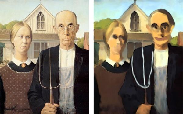 American Gothic restauriert
