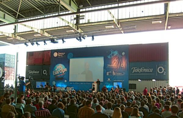 Sir Timothy John Berners-Lee auf der CPeurope 2012 in Berlin