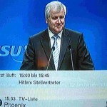 Seehofer- Hitlers Stellvertreter?!