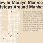Marilyn Monroe's New York: Map Illustrates Beloved Actress' City