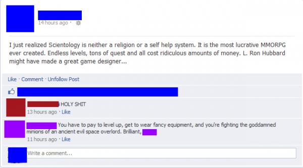 Scientology Game