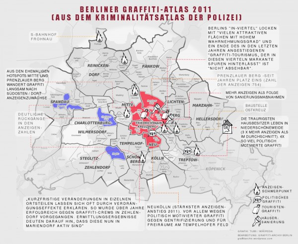 Berliner Graffiti-Atlas 2011