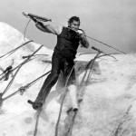 Gregory Peck als Ahab in Moby Dick, 1956