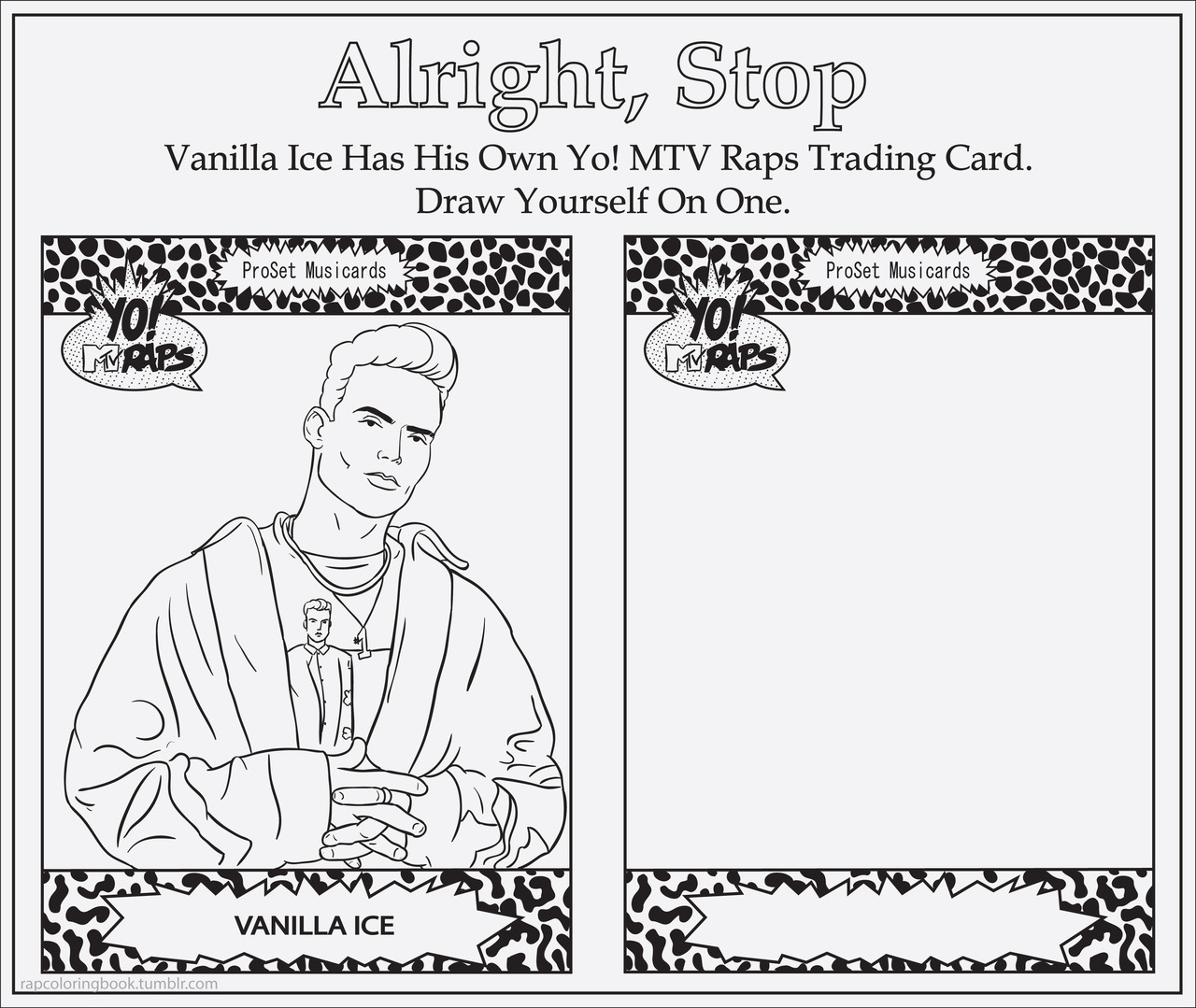 Blog Of The Day: Rap Activity And Coloring Book ⋆ Kotzendes Einhorn