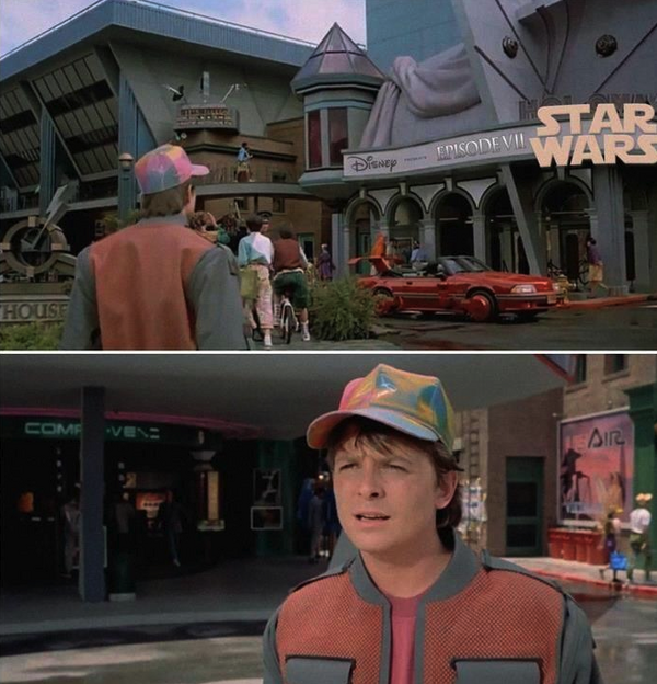 Marty McFly - Star Wars 2015