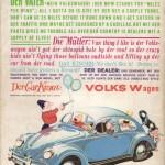 Fake Volkswagen Werbung aus dem MAD Magazine