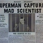 Superman Captures Mad Scientist