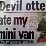 Devil otter ate my mini van