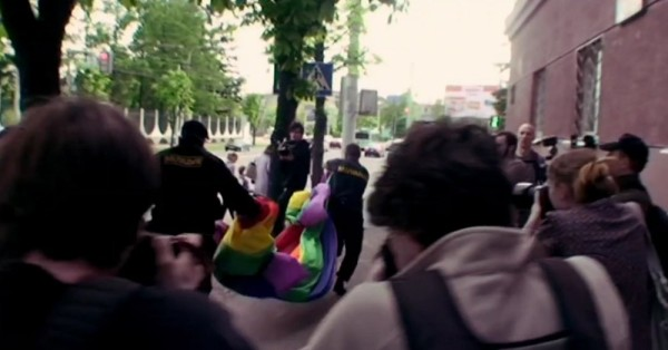 Szene aus der Dokumentation East Bloc Love