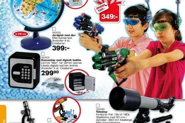 Genderneutraler Spielzeugkatalog