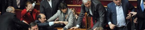 Kämpfe im Parlament