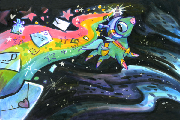 Space Unicorn