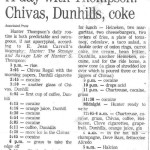 A Day with Hunter S. Thompson