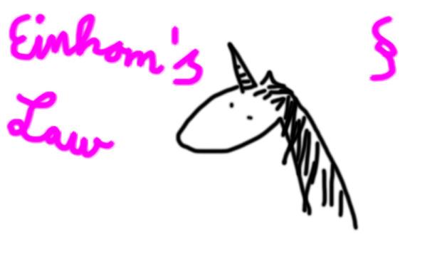 Einhorn's Law