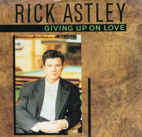 Rick Astley gives up...