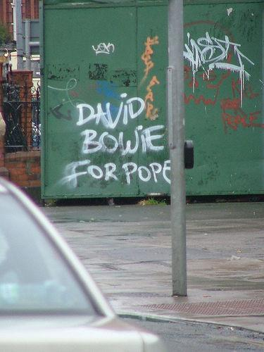 David Bowie For Pope
