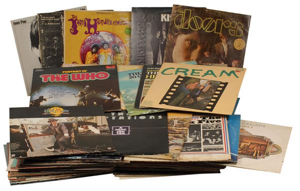 Joey Ramones Plattensammlung
