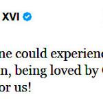 Letzter Tweet des Papstes