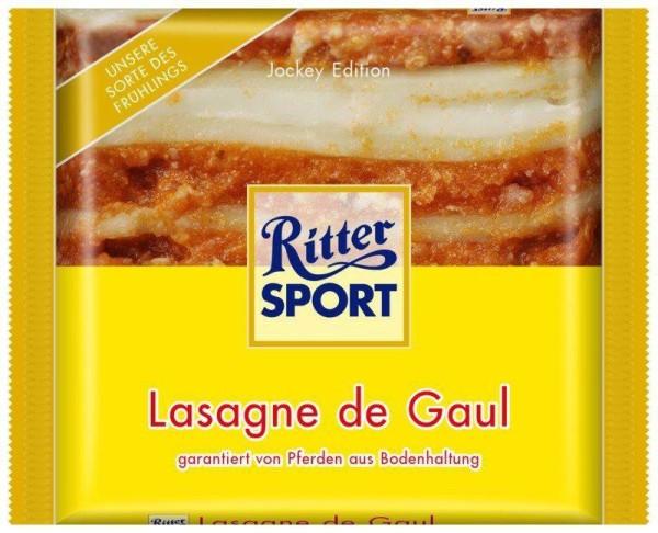 Ritter Sport Lasagne