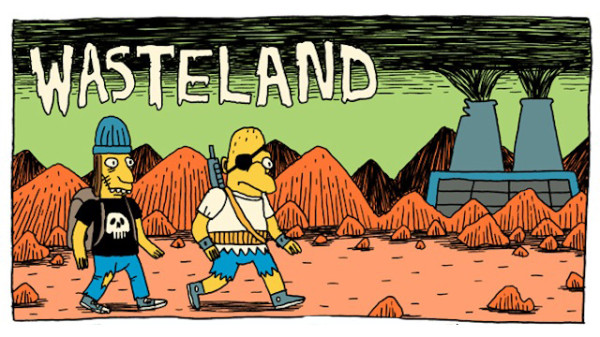 Simpsons Wasteland