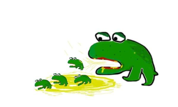 Symbolbild Froschgeburt
